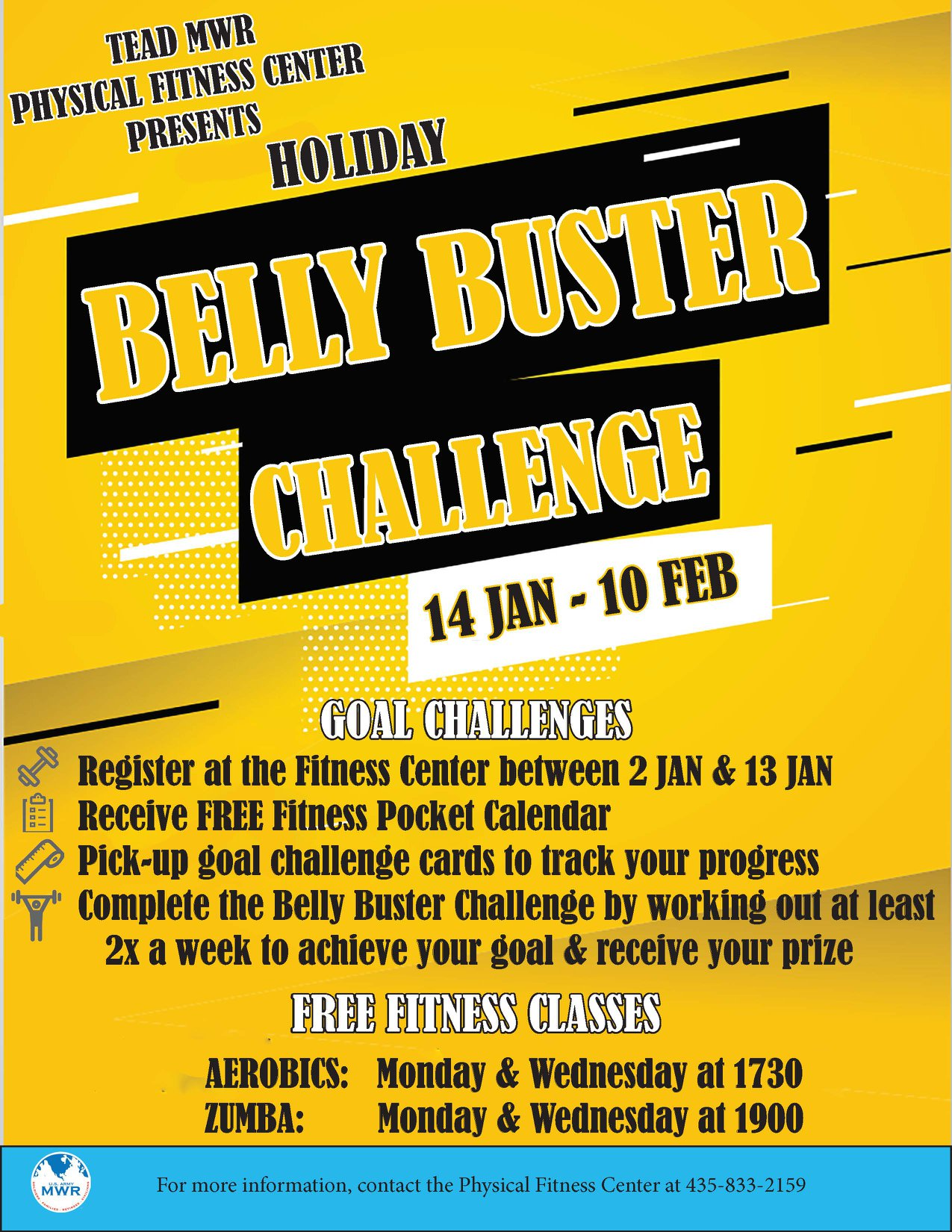 Belly Buster Challenge
